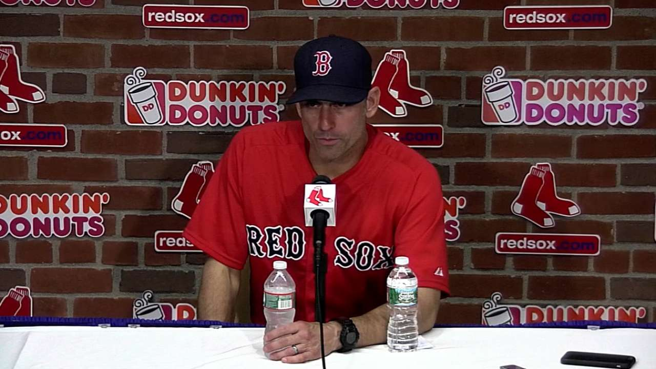 Lovullo on win over the Royals