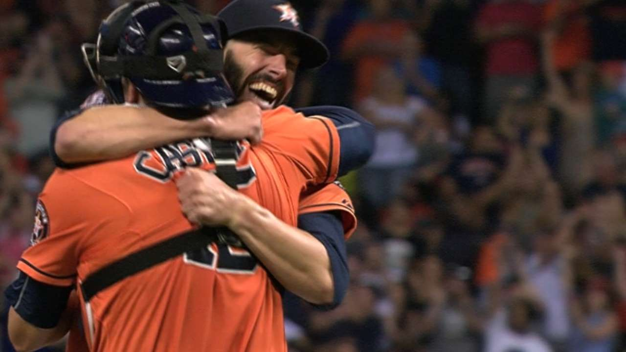 Fiers seals his no-hitter