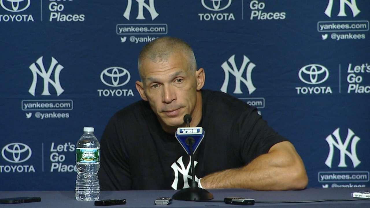 Girardi on Yankees' 7-3 loss