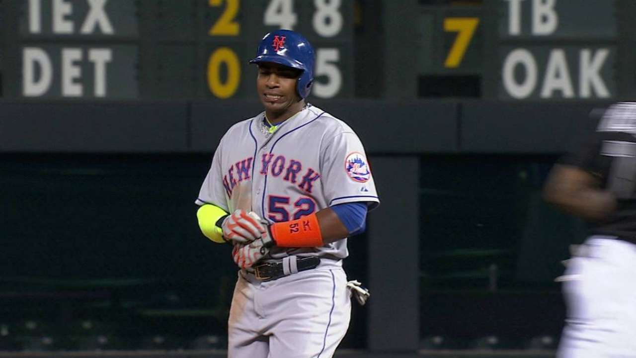 Cespedes bids for homer No. 4