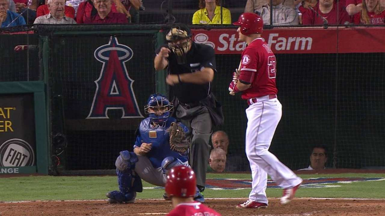 Price strikes out Trout