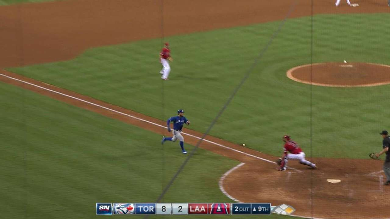 With 4-hit game, Revere joins Blue Jays' fun