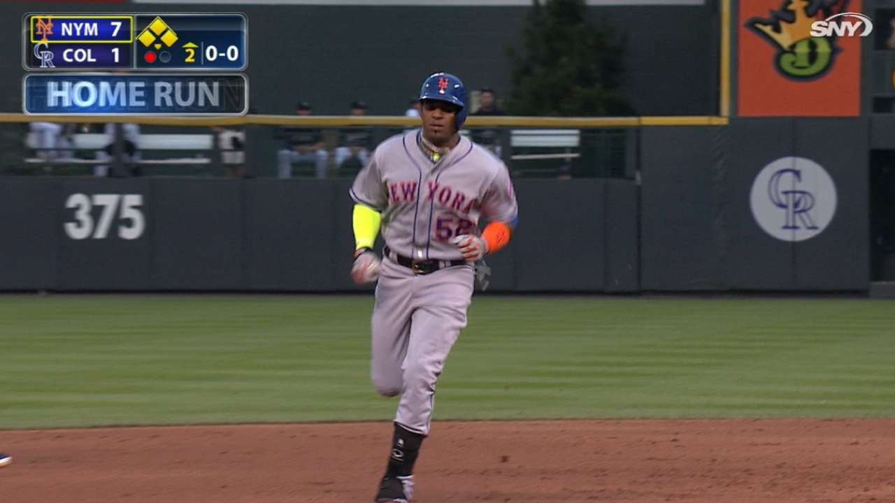 Cespedes' historic five-hit game