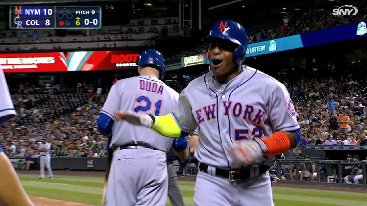 Collins enjoying Mets' ride with patient approach