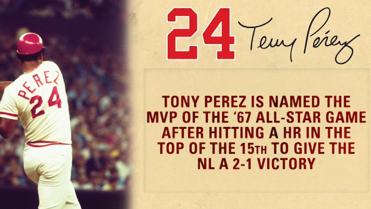 Tony Perez weekend