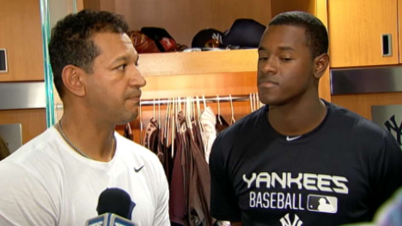 Severino on first win