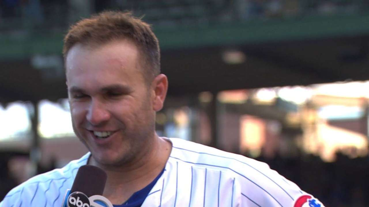 Montero on the Cubs' win
