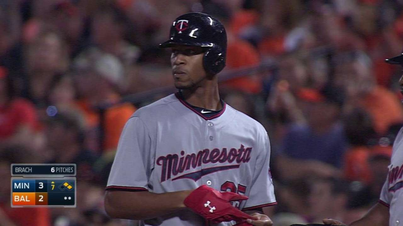 Buxton's first RBI lifts Twins over O's