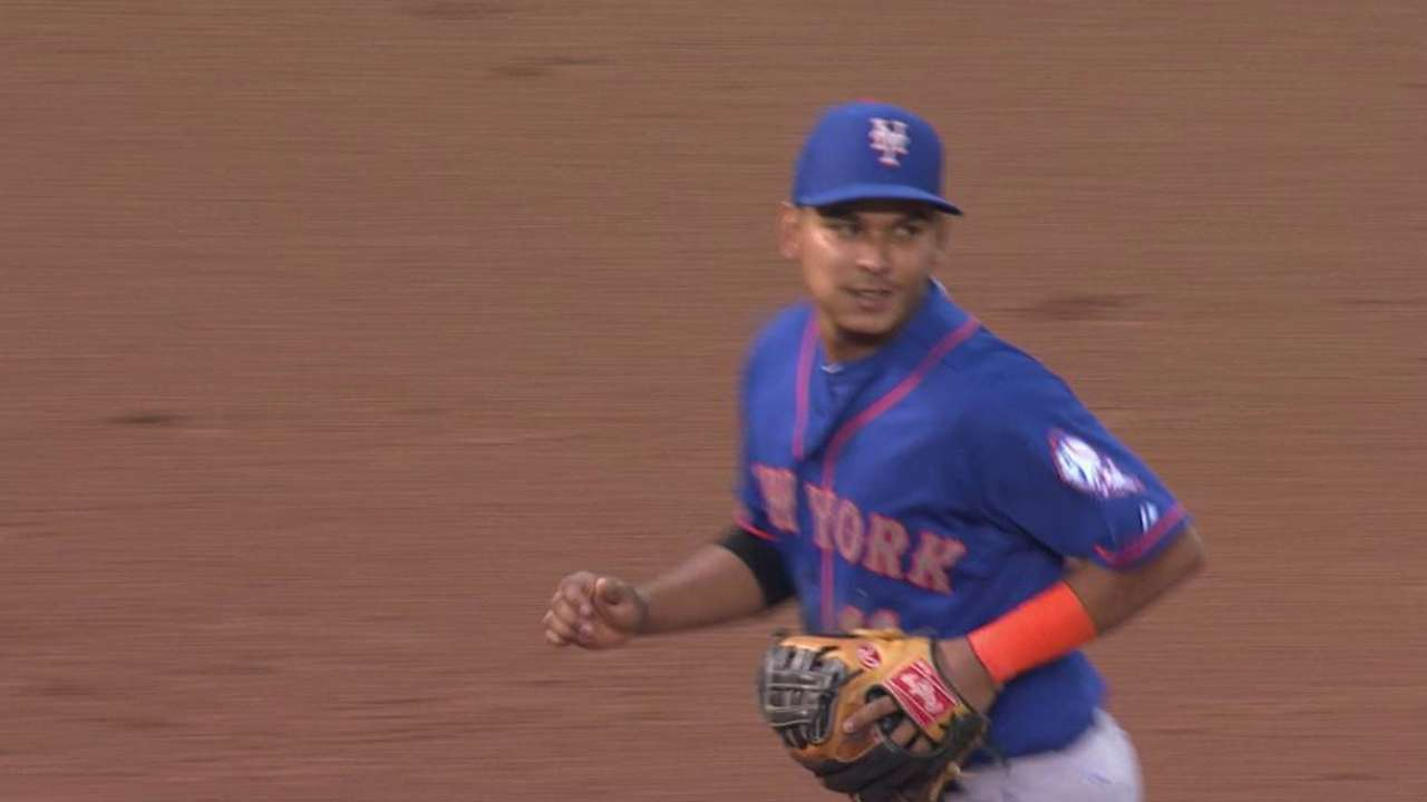 Tejada flashes the leather
