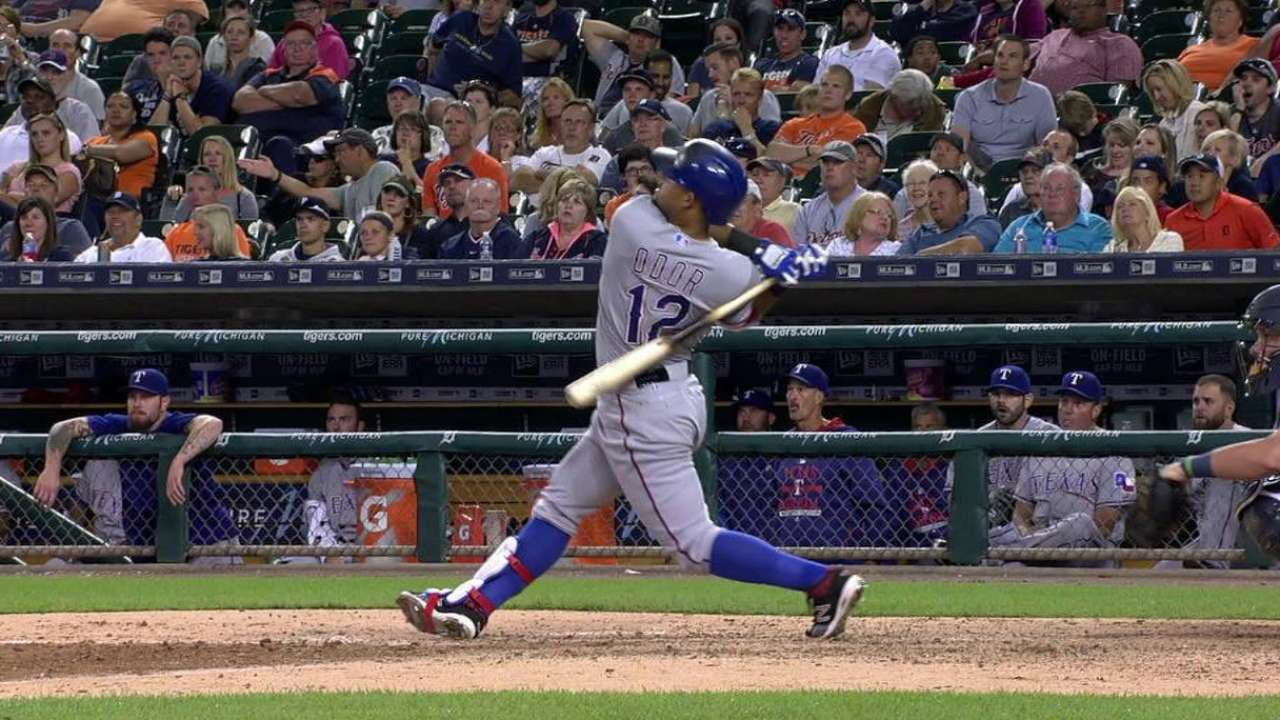 Four-run 3rd powers Rangers past Tigers