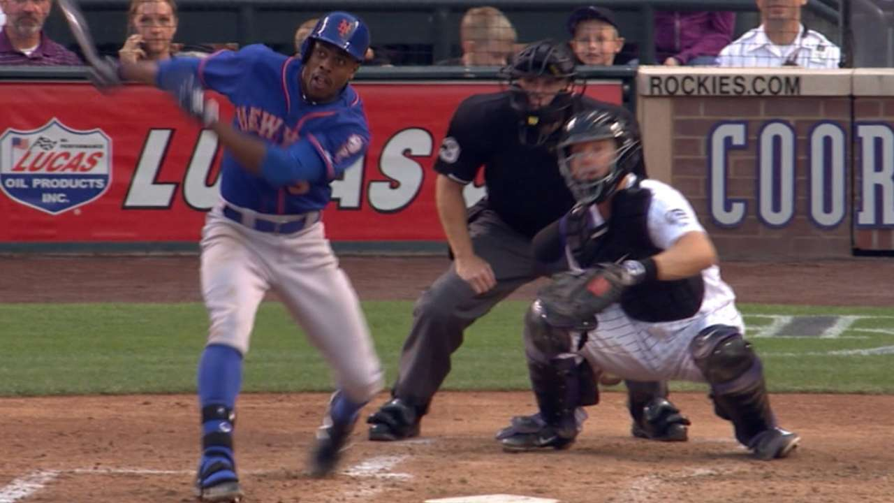 Mets' eight-run inning