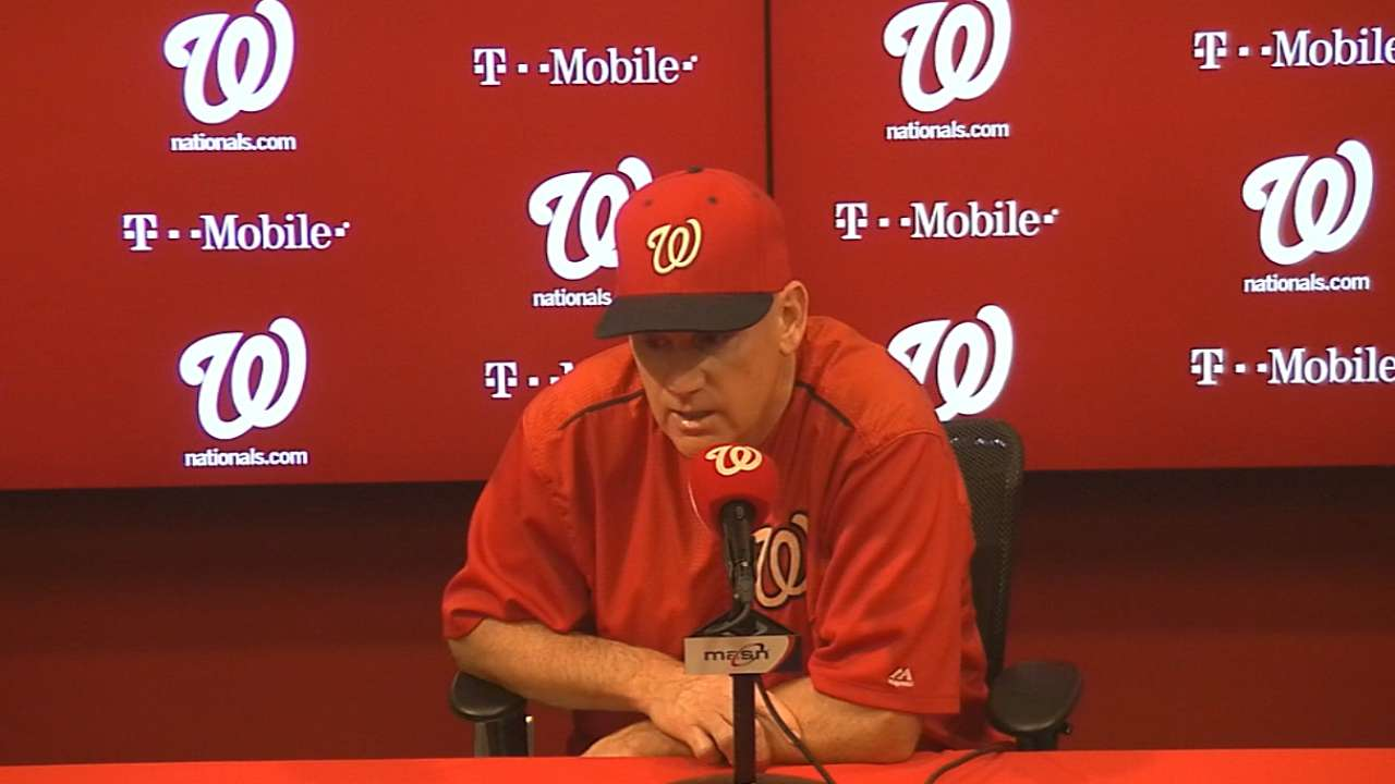 Williams on Ross, Nats' 6-1 win