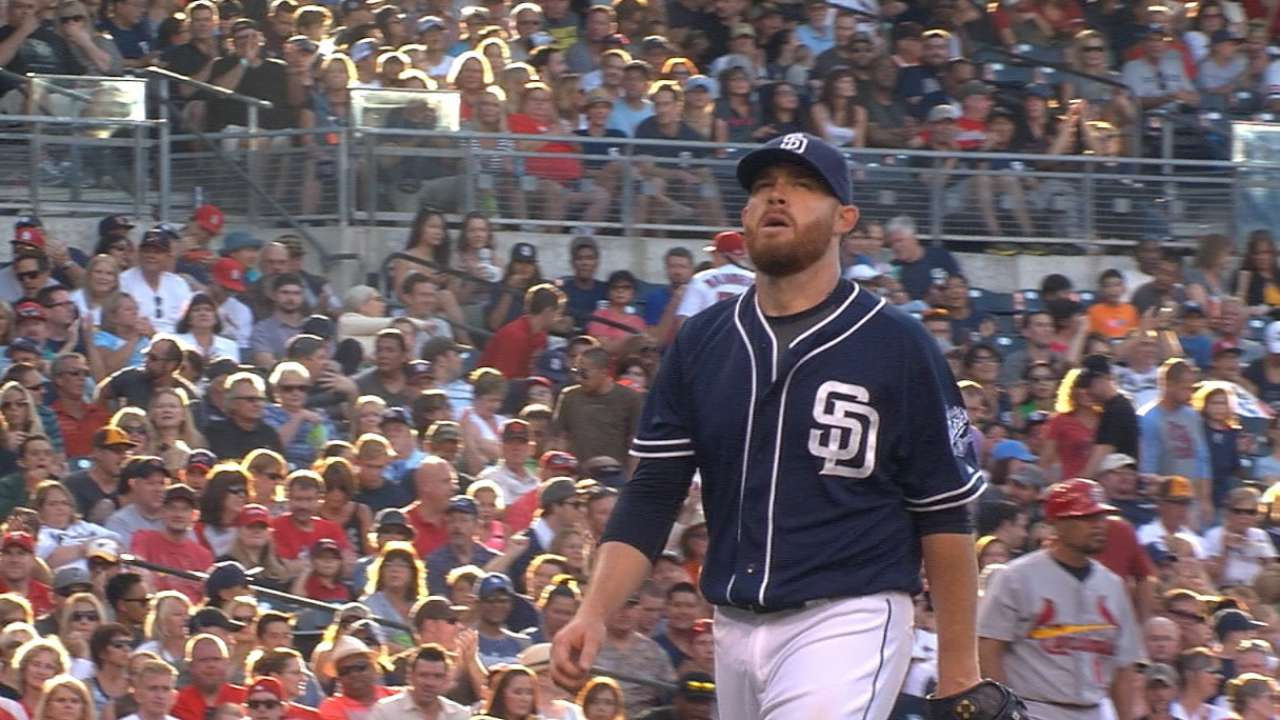 From start to finish, Padres stymie Cards