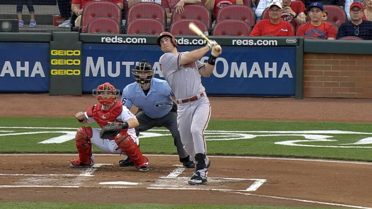 Goldschmidt busts out with 2 two-run shots