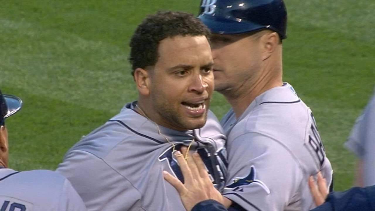 Loney on ejection from game