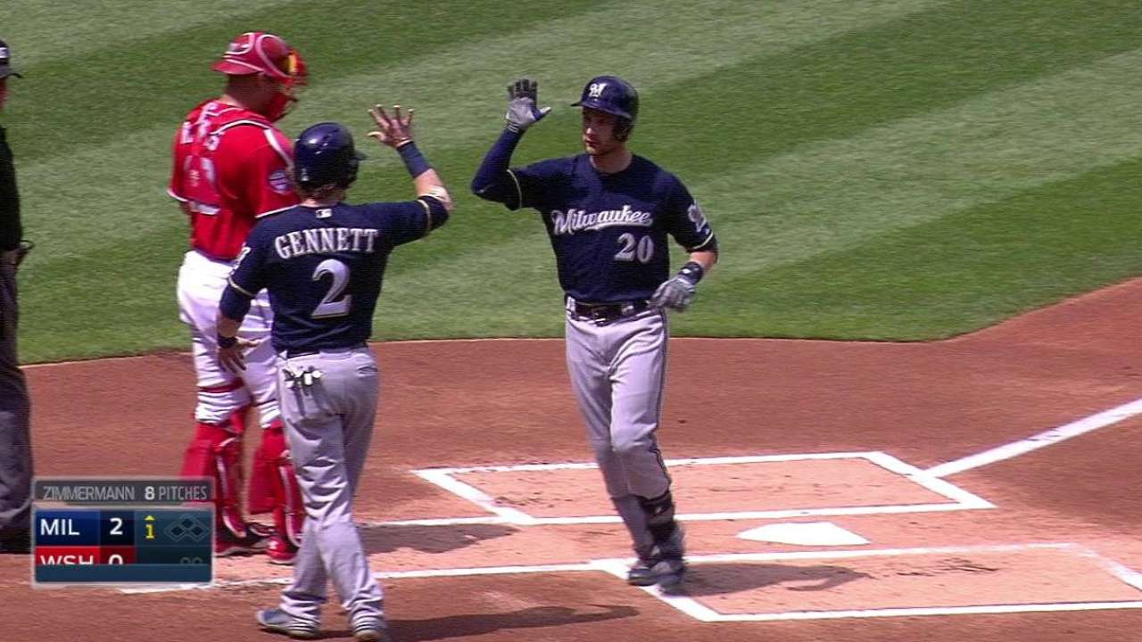 Lucroy puts focus on increasing contribution level