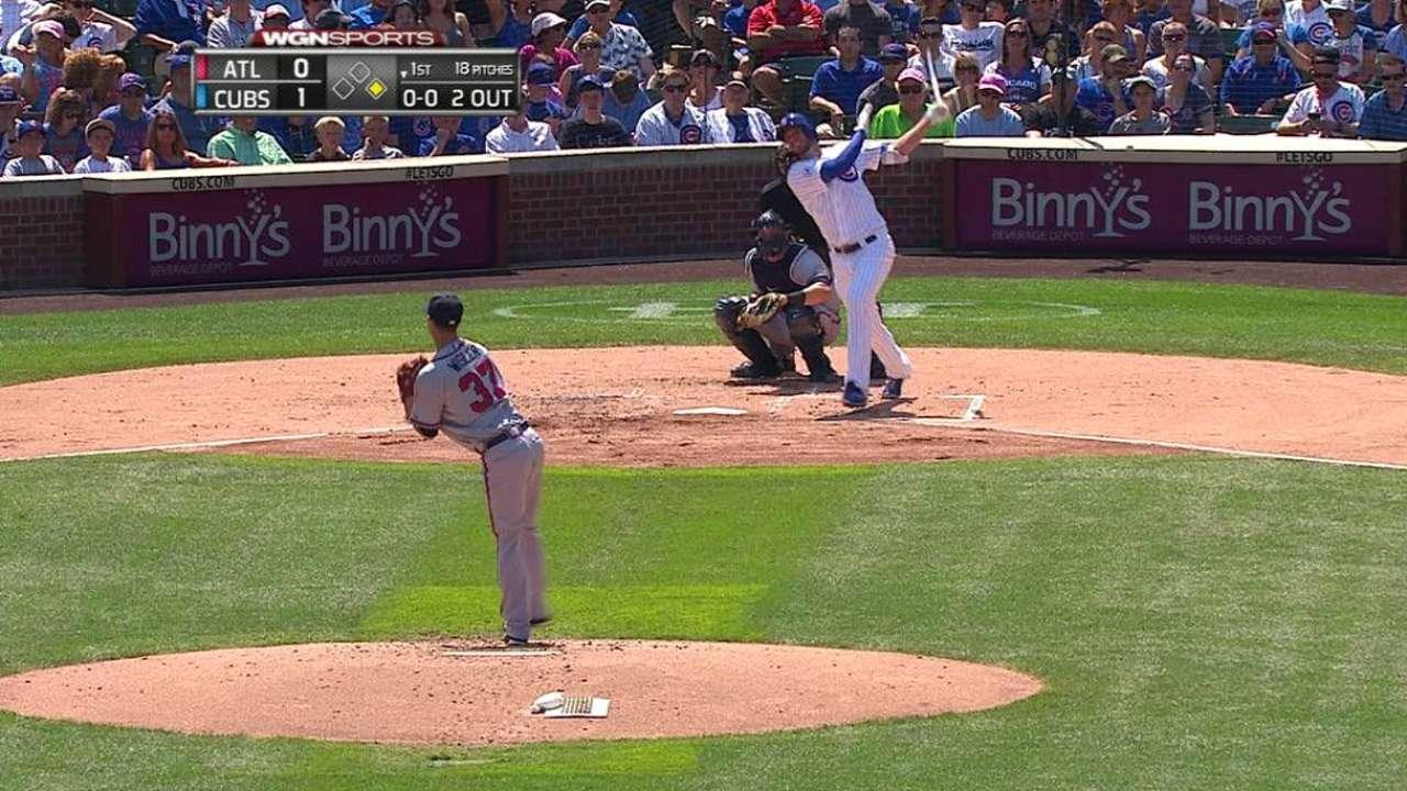 Bryant's two-run homer