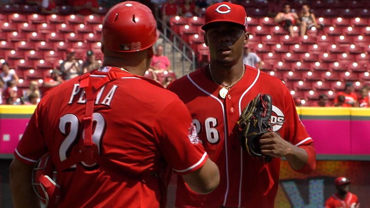Coddling rookie rotation no option for Reds