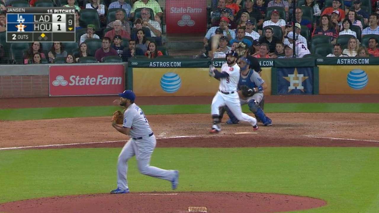 Gonzalez's game-tying RBI single