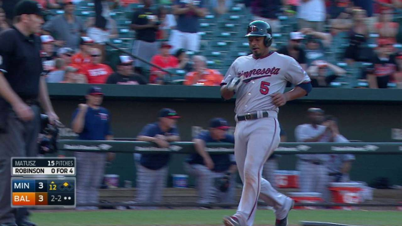 Escobar scores on Paredes' error