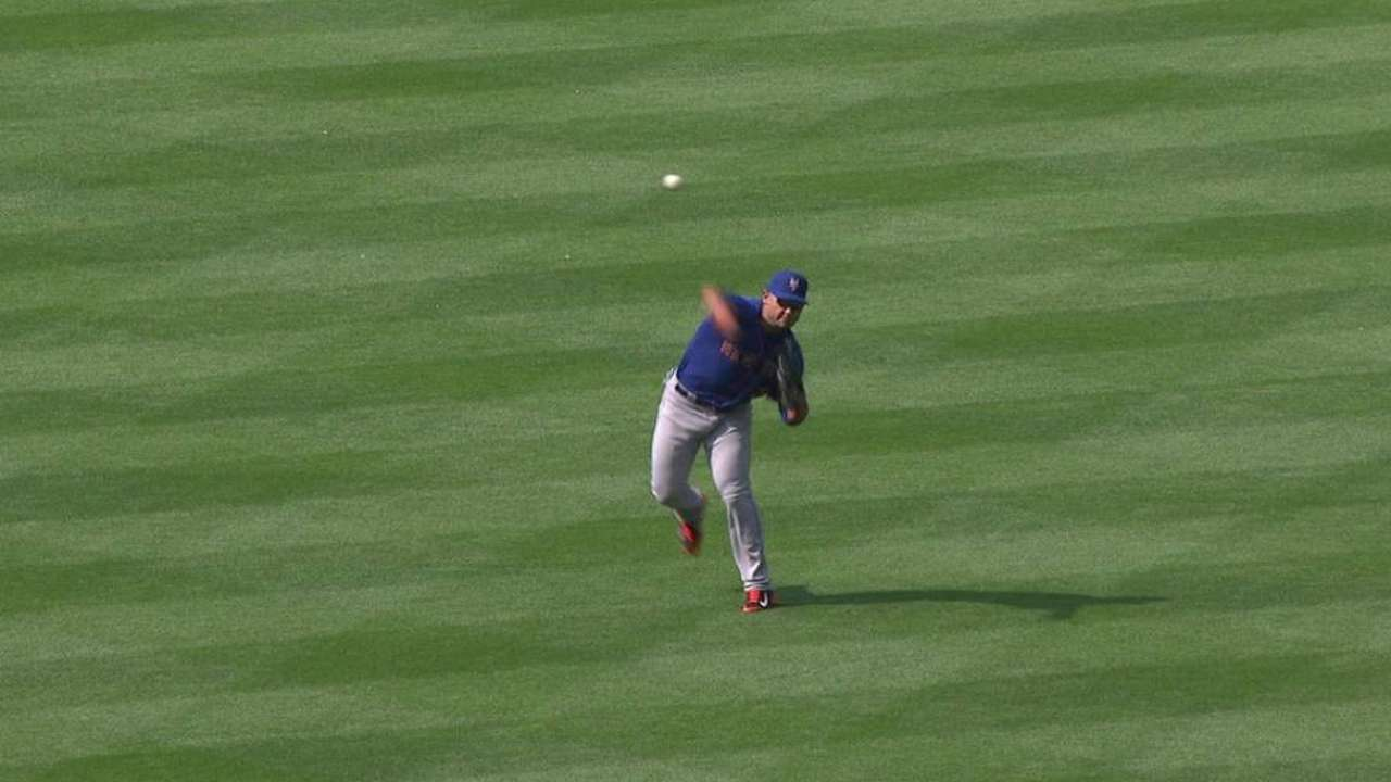 Conforto finding comfort zone with Mets
