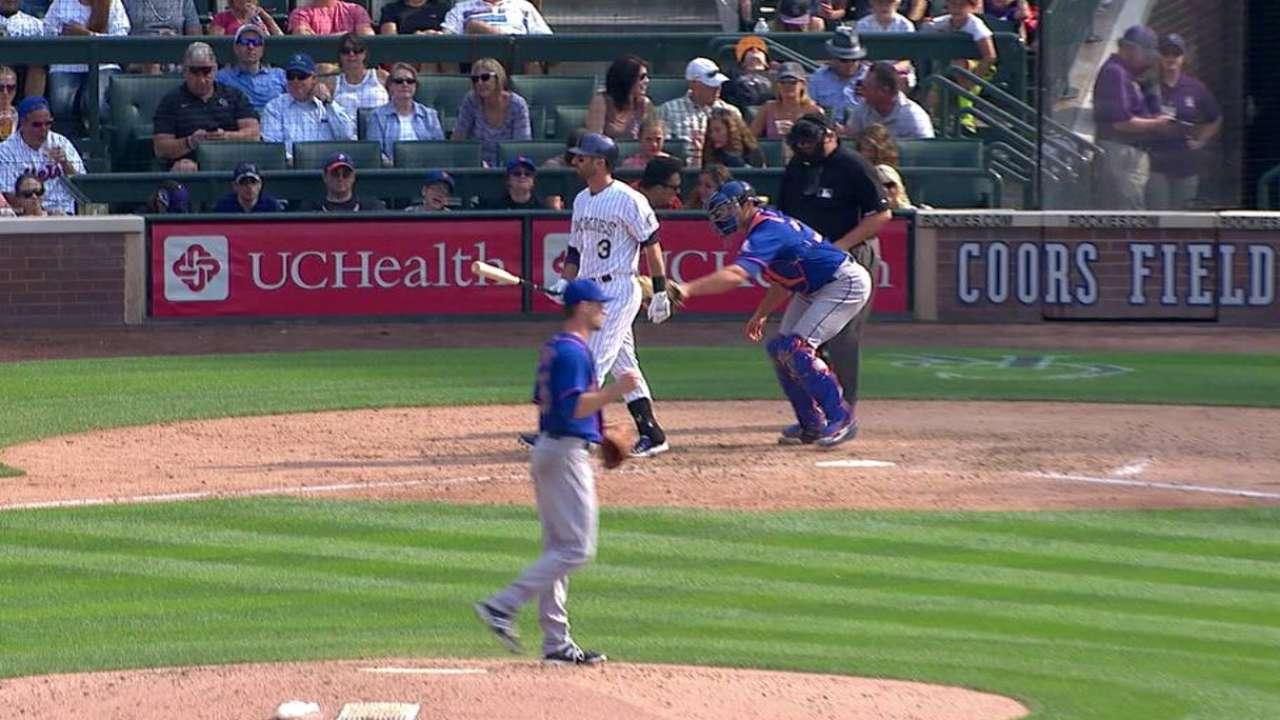 Mets sweep away Rox behind Verrett's gem