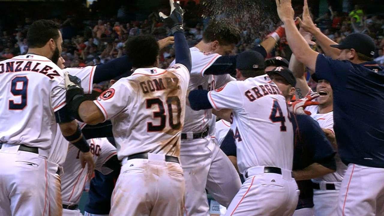 Walk-off trending: Astros get 4th in 8 games