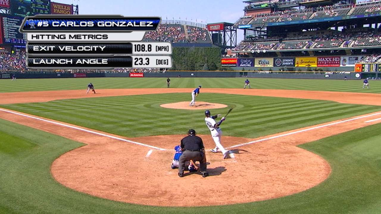 Statcast: CarGo's big home run