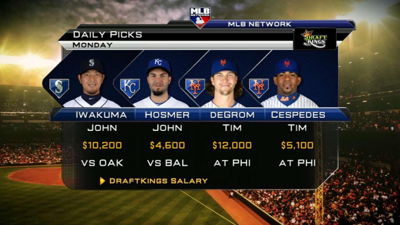 Mets stack could overpower Phillies