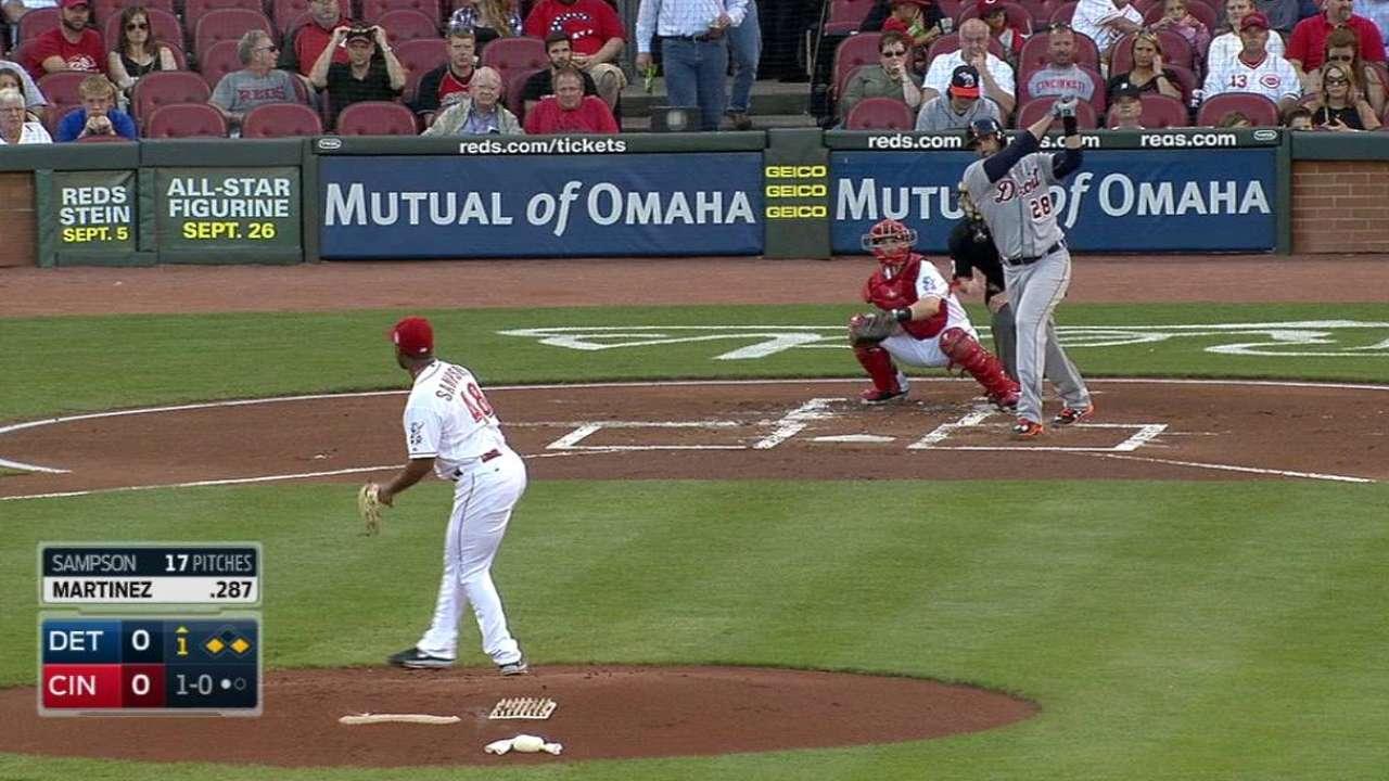 J.D. Martinez's three-run homer