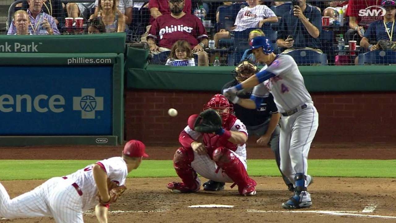 Mets conectan 8 bambinazos para apalear a Filis