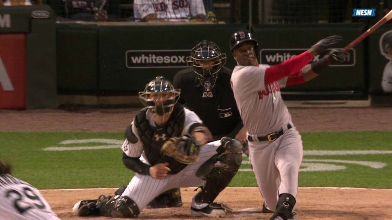 Rusney's 5 RBIs carry Red Sox over White Sox