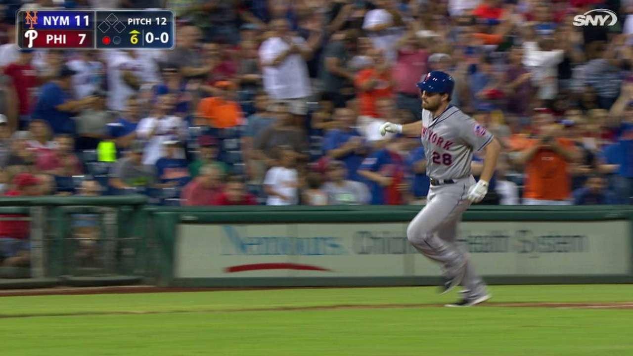 Murphy's homer ties Mets record