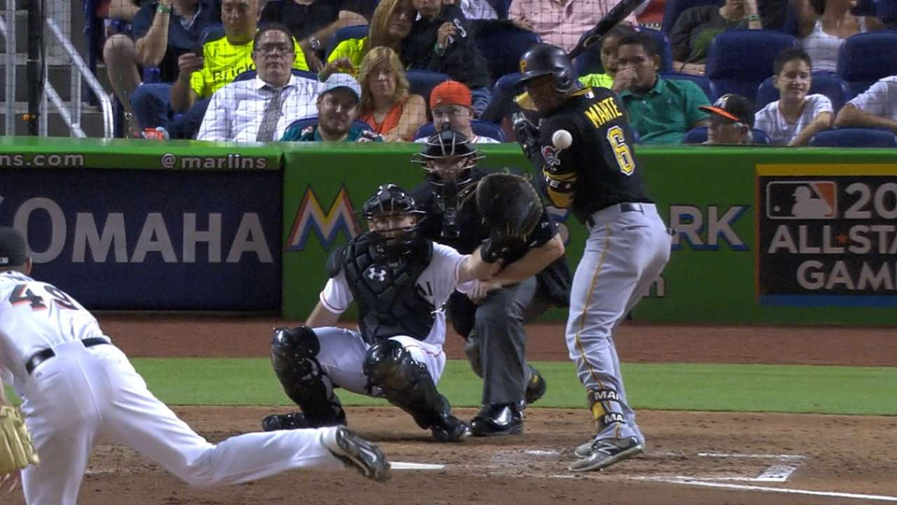 Cordier ejected after plunking Rodriguez