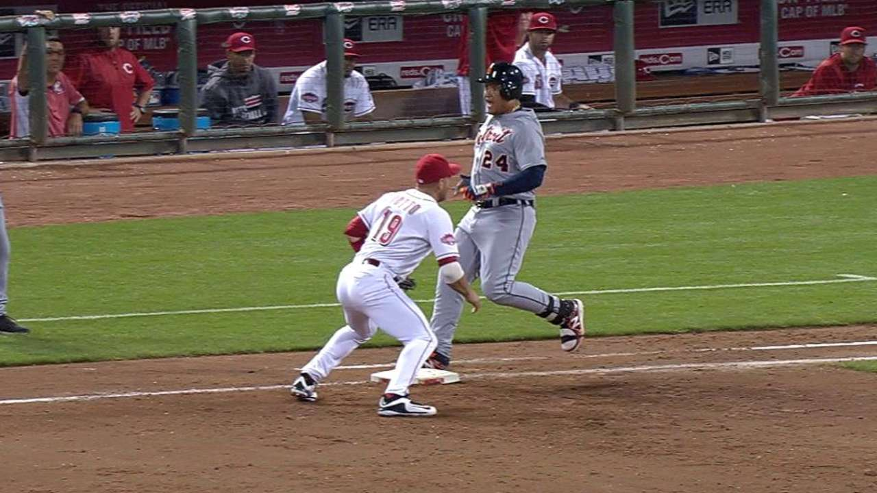 Barnhart gets Miggy on review