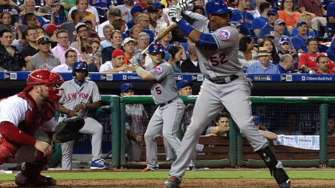 Cespedes sets two Mets records