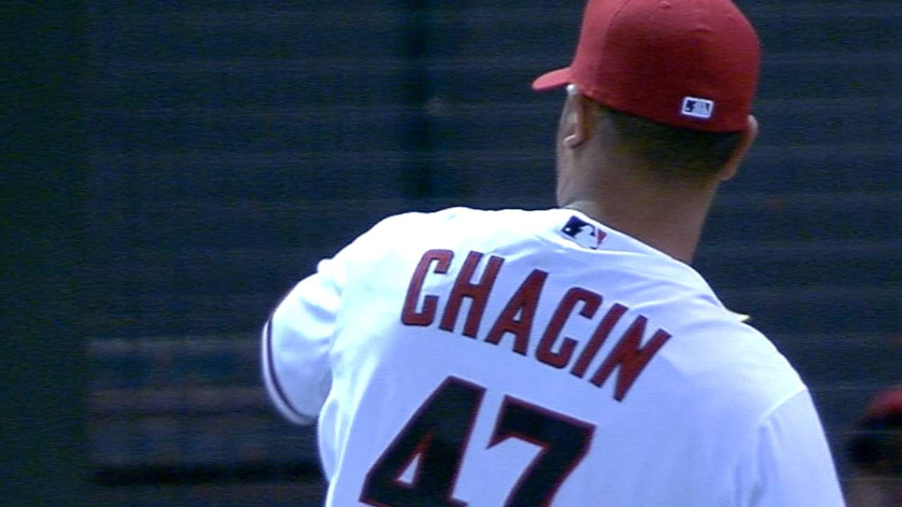 Chacin called up; Bradley off DL, to Triple-A