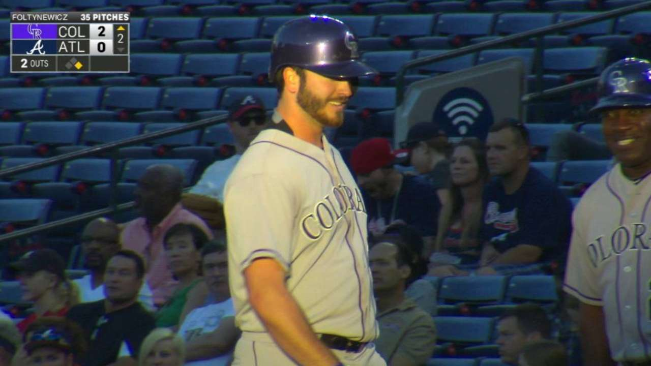 Bettis' first career hit