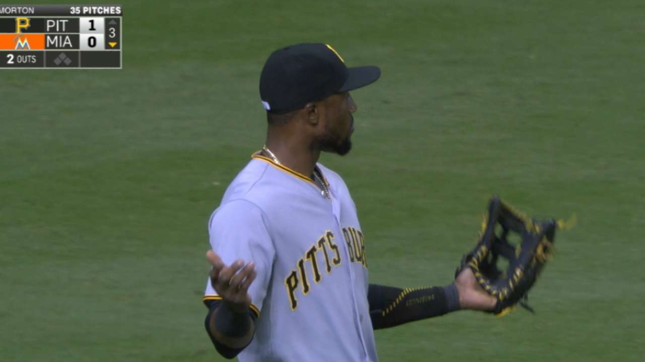Marte nabs Hechavarria at third