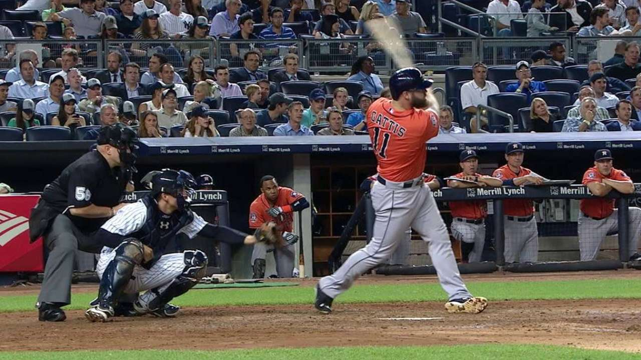 Gattis' 20th home run