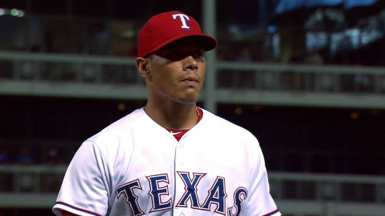 Rangers to rest Kela with sore right elbow