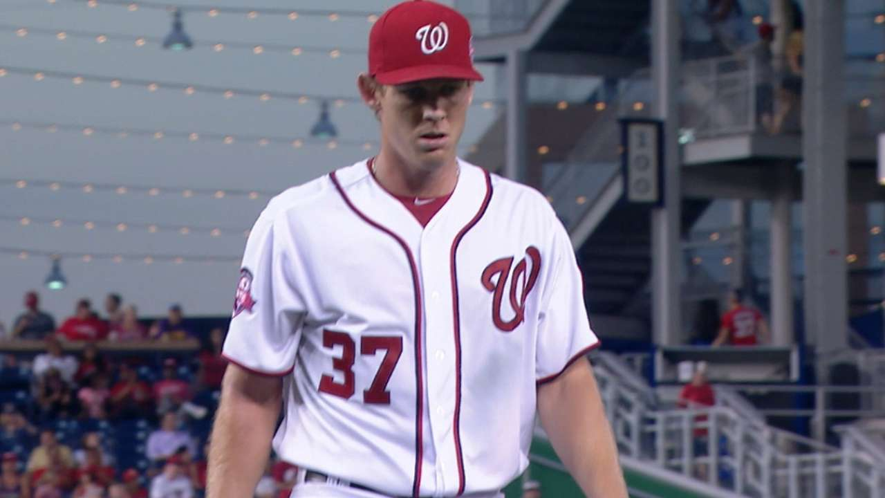 How Strasburg got back to being an ace