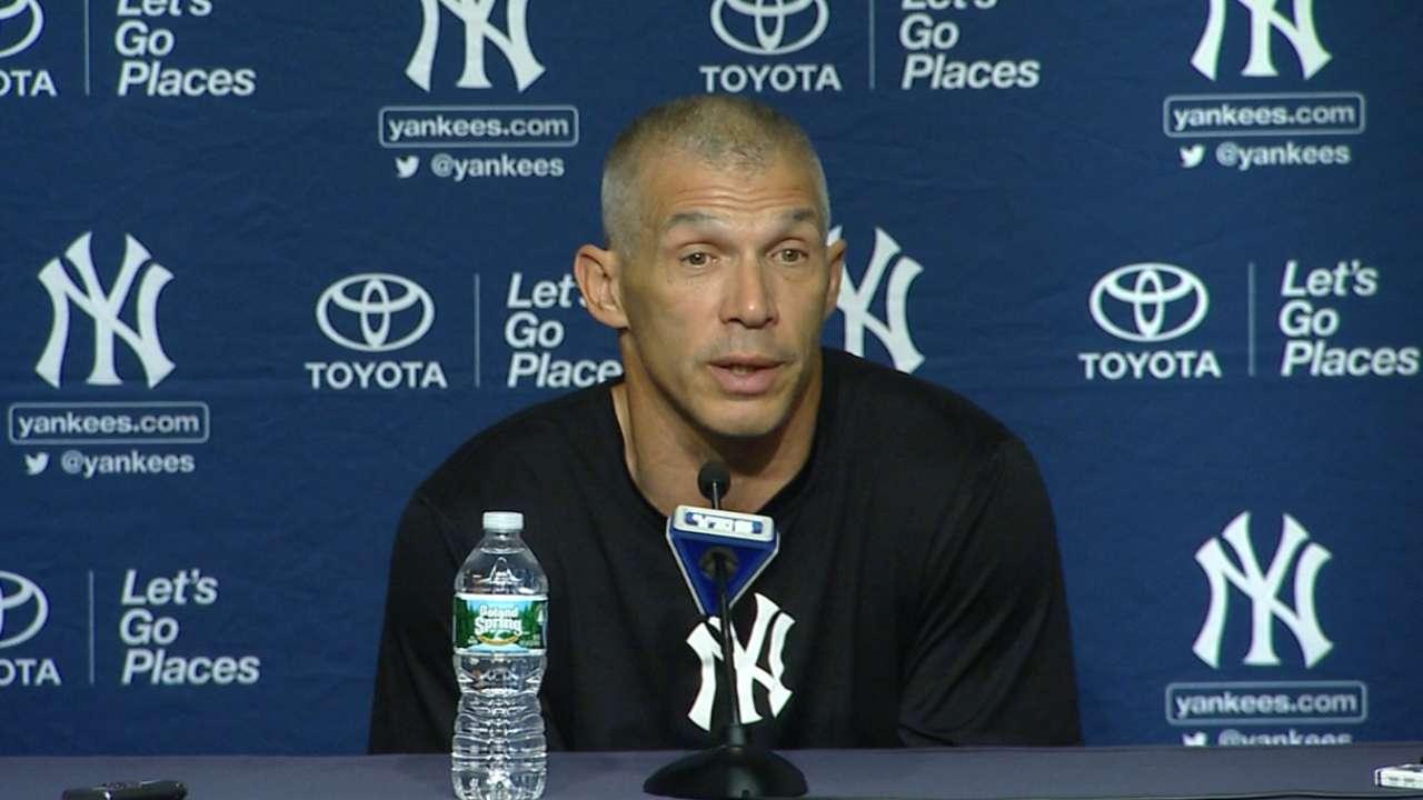 Girardi on Yankees' 15-1 loss