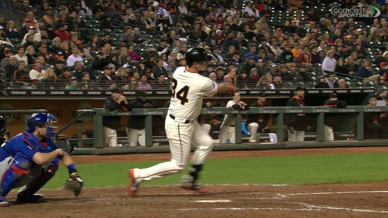 Susac leads crowded backup catcher's field in SF