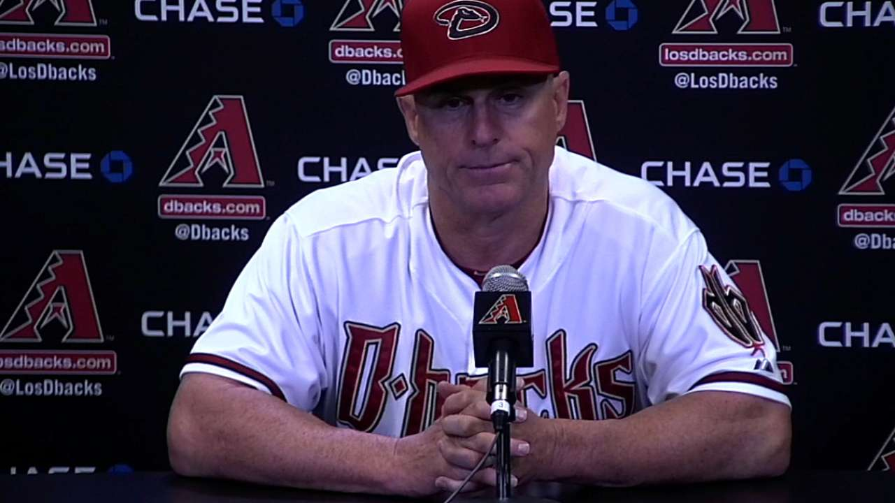 D-backs undaunted by latest hiccup
