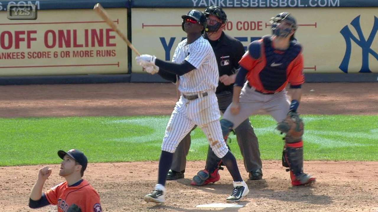 Gregorius' two-run home run