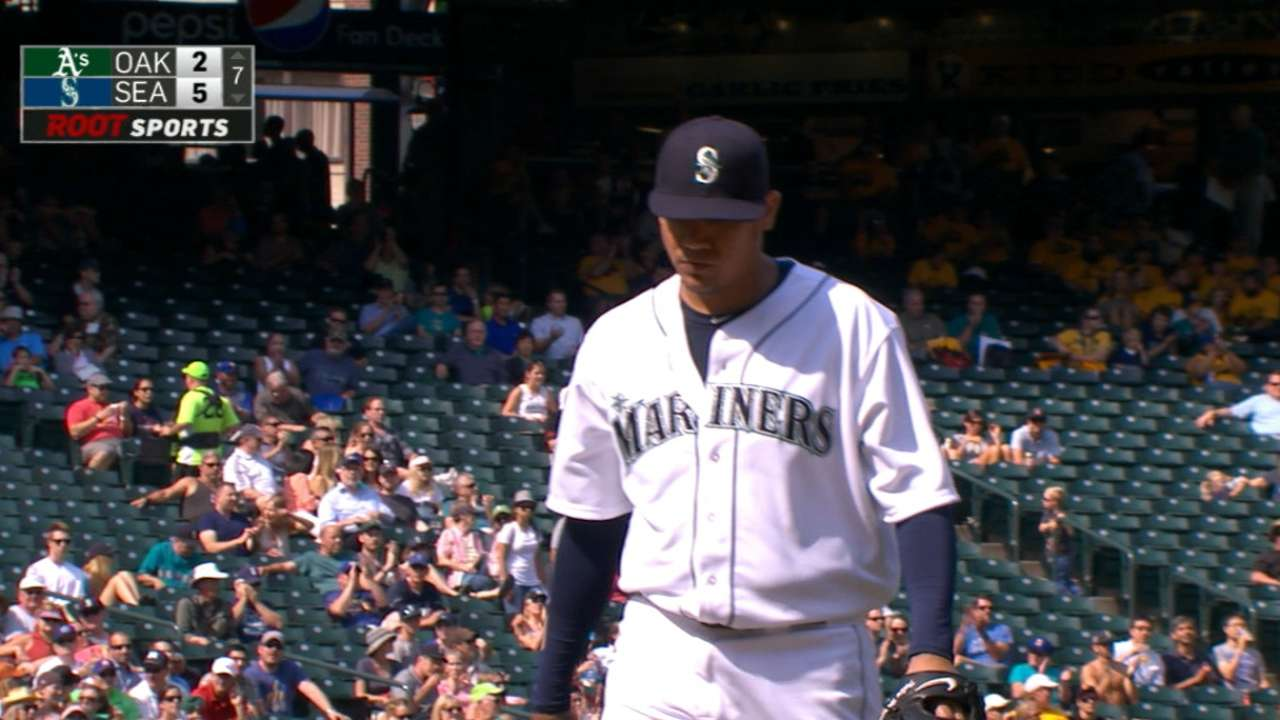 Felix finds fix in rare bullpen session