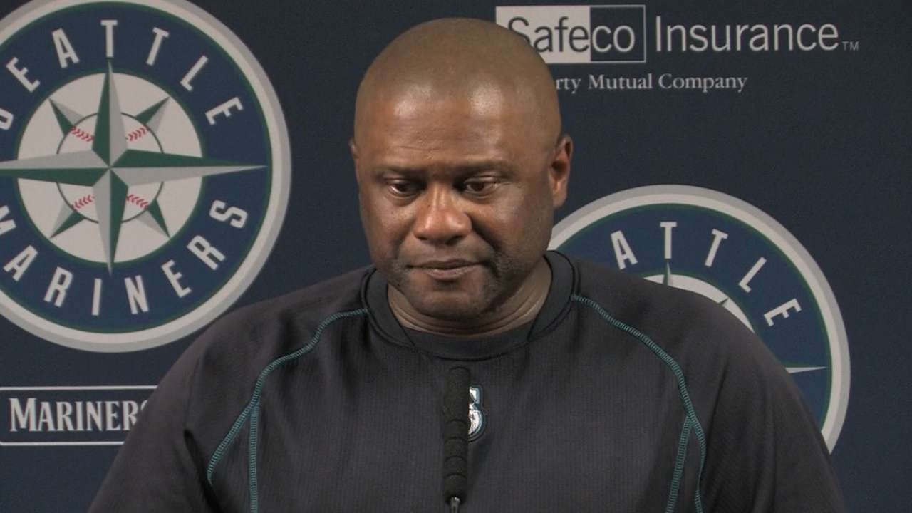 McClendon on Mariners' 8-2 win