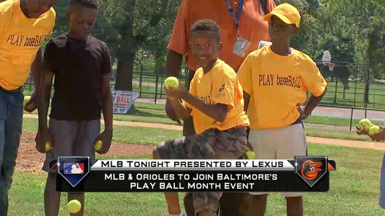 MLB joins Play Ball Month Event