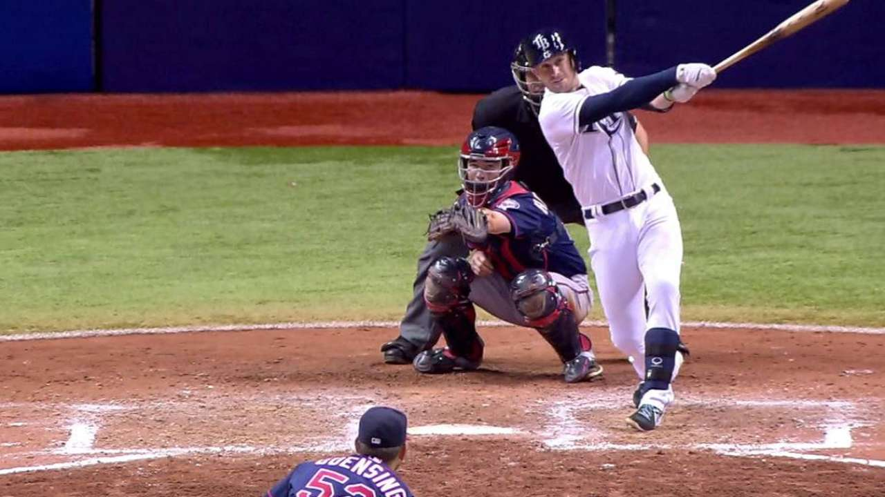 Longo homers, Archer K's 12, but Rays fall